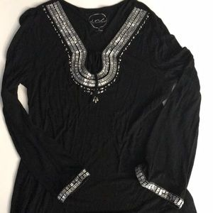 INC Collection tunic top XL